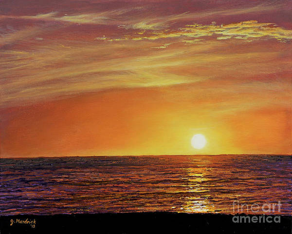 Marco Island Sunset Poster