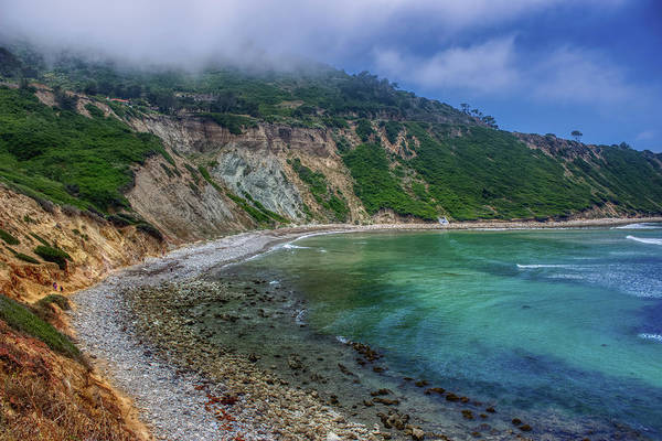 Marine Layer Over Bluff Cove Poster