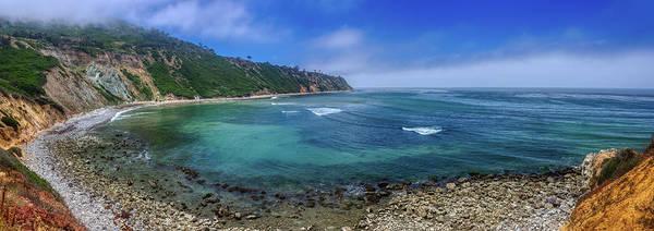 Marine Layer Over Bluff Cove Panorama Poster