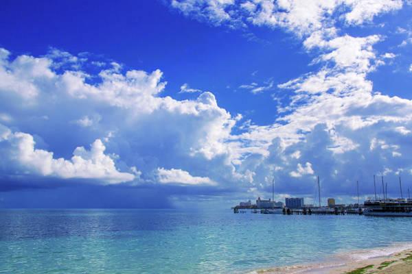 Massive Caribbean Clouds Poster