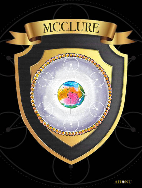 Mcclure Family Crest Poster