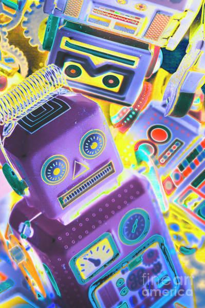 Mechanic Al Pop-art Poster