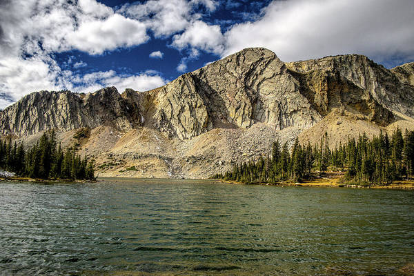 Poster featuring the photograph Medicine Bow Peak by Chance Kafka