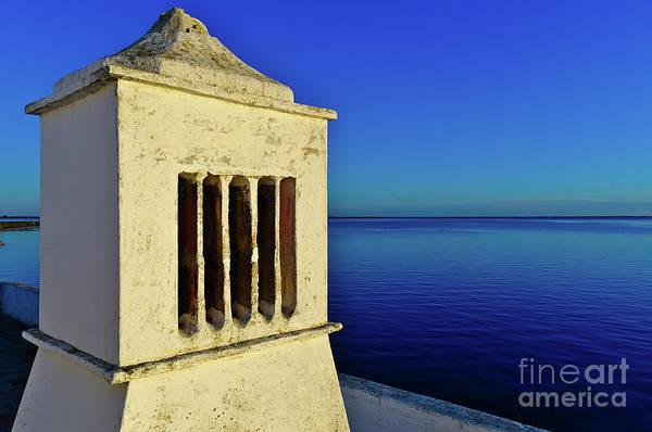 Mediterranean Chimney In Algarve Poster