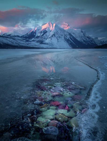 Melt, Freeze, Repeat / Late Winter / Lake Mcdonald, Glacier National Park  Poster
