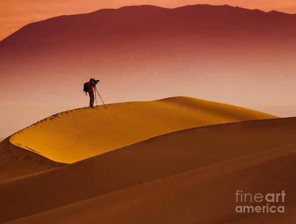 Mesquite Flat Dunes At Death Vakkey Poster