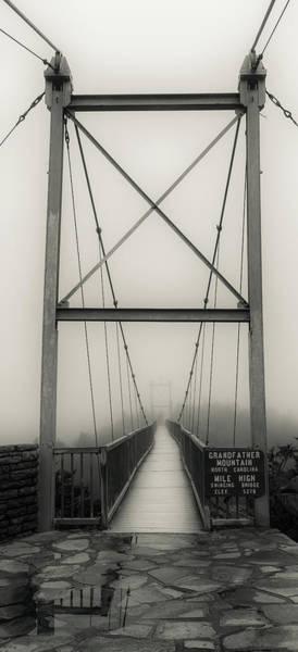 Mile High Swinging Bridge - Grandfather Mountain Poster