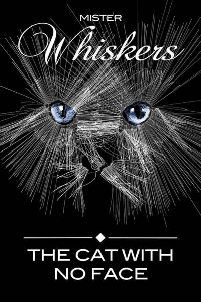 Poster featuring the digital art Mister Whiskers by ISAW Company
