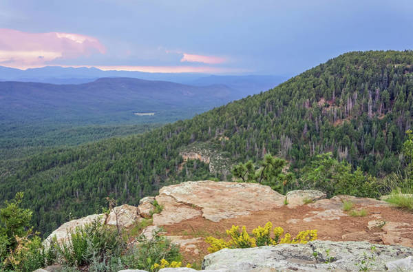 Poster featuring the photograph Mogollon Rim Sunset by Dawn Richards