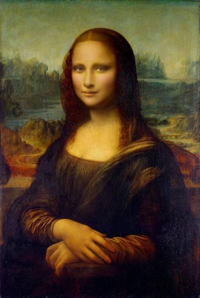 Mona Lisa - Modern Art Edition Poster