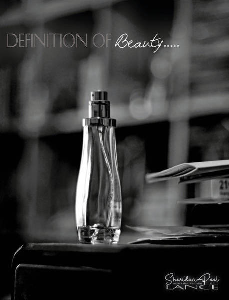Monochrome Definition Of Beauty Poster