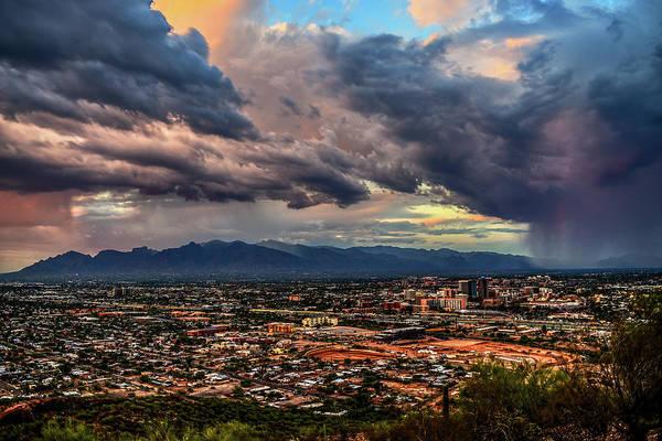 Monsoon Hits Tucson Poster