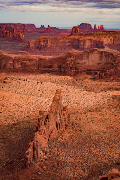 Monument Valley From Hunt's Mesa Poster