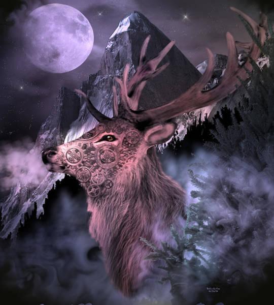 Moonlight Buck Poster