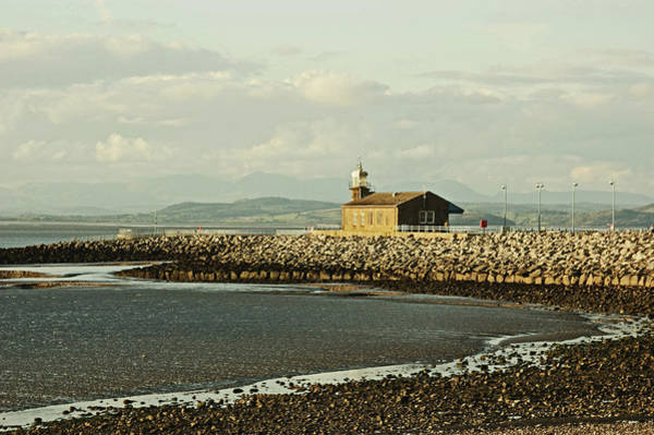 Morecambe. The Stone Jetty. Poster