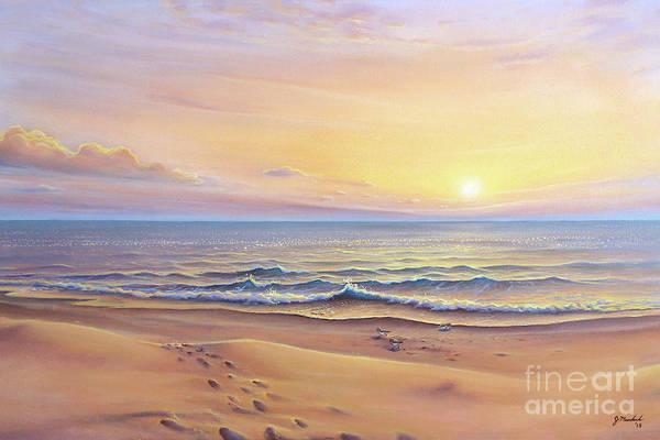 Morning Sea Breeze Poster