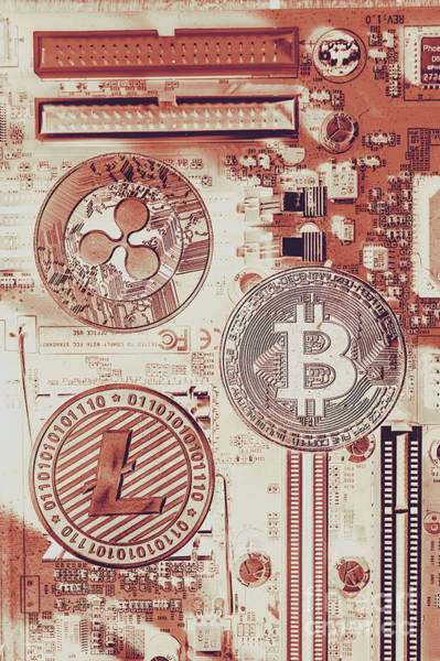 Motherboard Money Poster