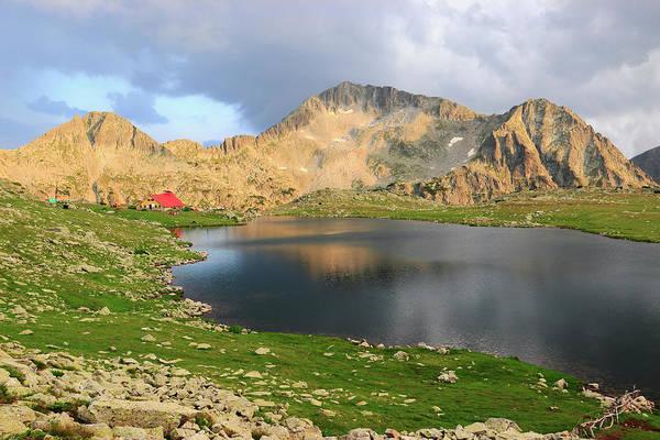 Mt Kamentsa And Tevno Lake Pirin National Park Bulgaria  Poster