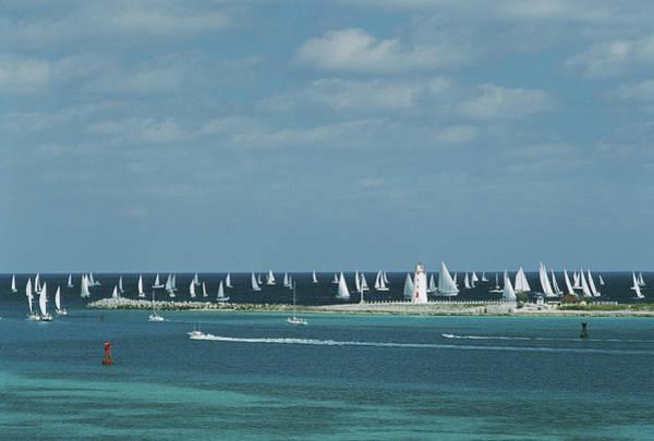 Nassau Sailing Poster