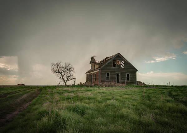 Nebraska Farm House Poster
