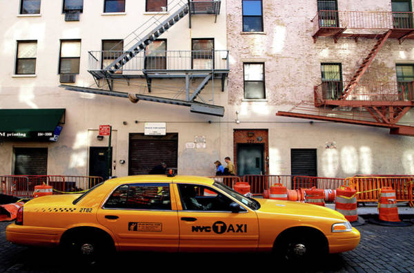 New York, Cab Poster
