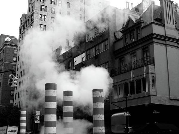 New York, Steam Poster
