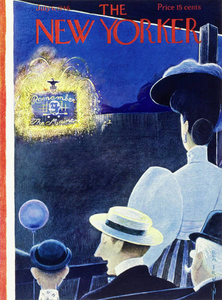 New Yorker July 6th 1946 Poster