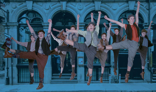 Newsies At The Artisan Center Theater Poster