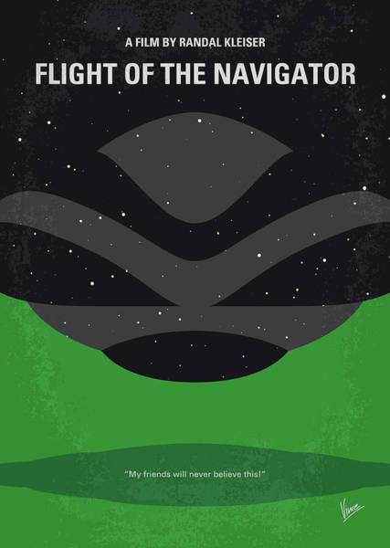 No1067 My Flight Of The Navigator Minimal Movie Poster Poster