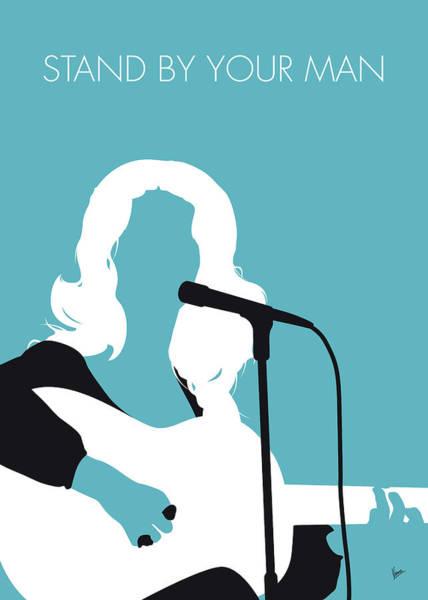 No275 My Tammy Wynette Minimal Music Poster Poster