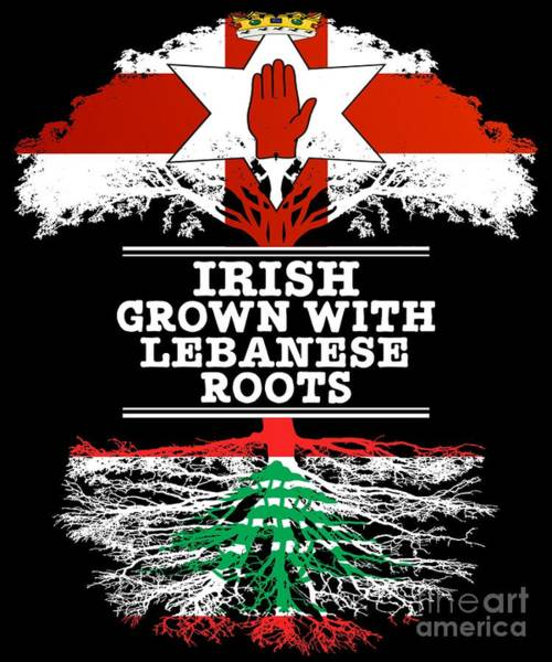 Northern Irish Grown With Lebanese Roots Poster