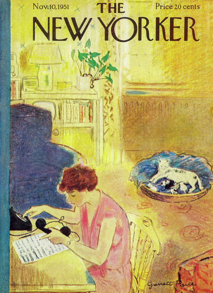 New Yorker November 10, 1951 Poster