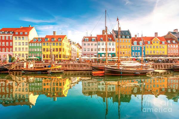 Nyhavn, Kopenhagen Poster