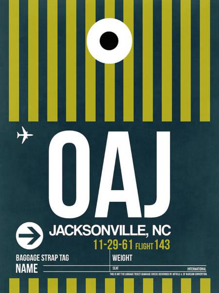 Oaj Oaj Jacksonville Luggage Tag I Luggage Tag I Poster