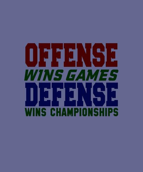 Offence Defense Poster