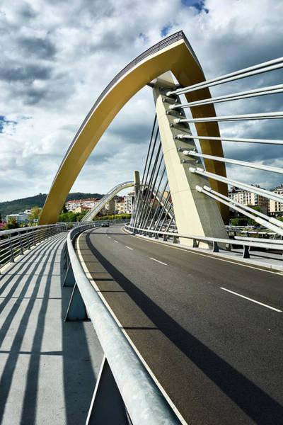 Millennium Bridge In Ourense, Spain Poster