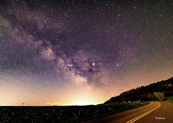 On The Road To The Milky Way Poster