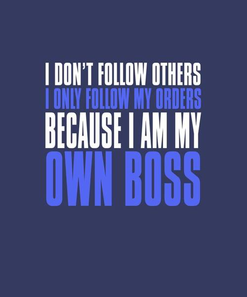 My Own Boss Poster