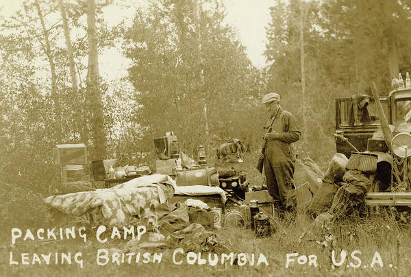 Packing Camp Poster