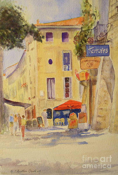 Painting Of Uzes France Poster