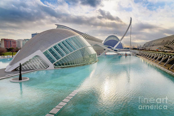 Panoramic Cinema In The City Of Sciences Of Valencia, Spain, Vis Poster