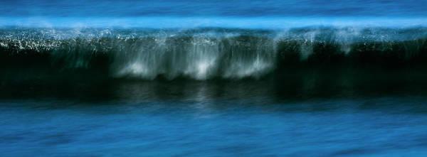 Panoramic Wave Poster