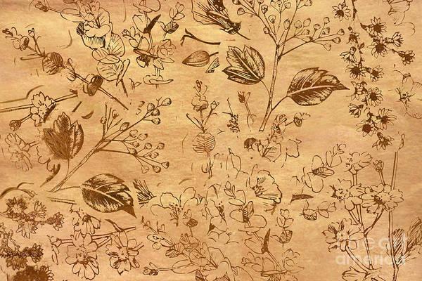 Paper Petal Patterns Poster
