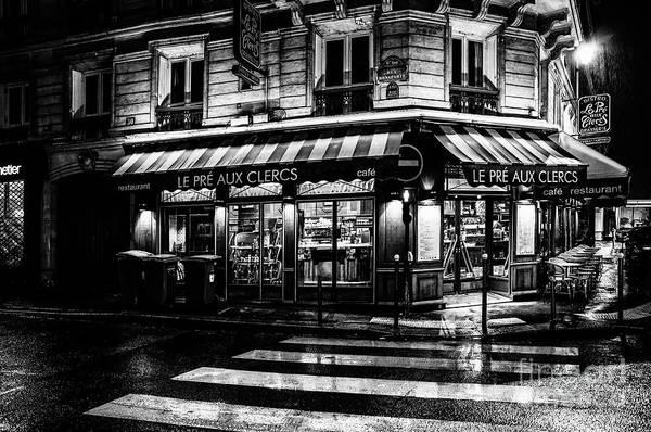 Paris At Night - Rue Bonaparte Poster