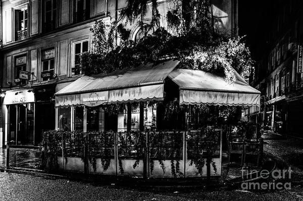 Paris At Night - Rue De Buci Poster