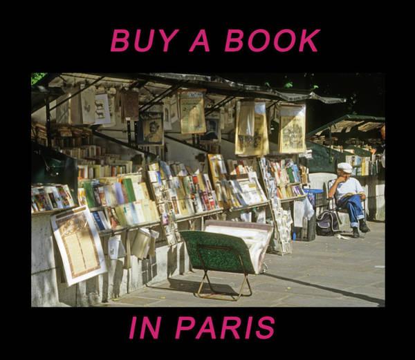 Paris Bookseller Poster