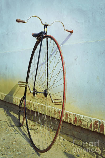Penny Farthing ,high Poster