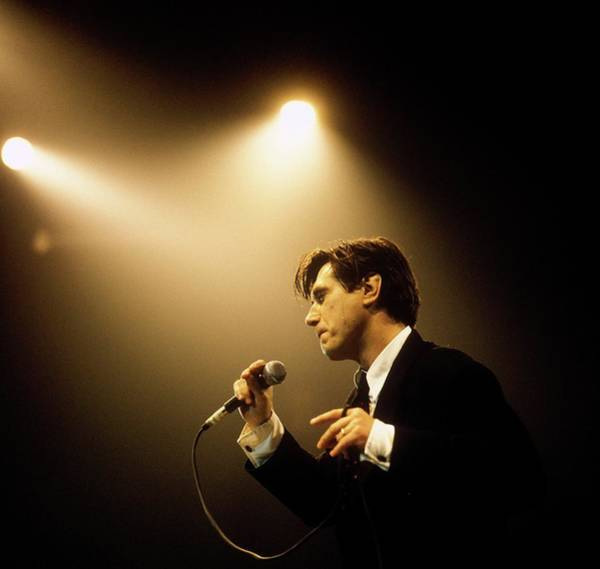Photo Of Bryan Ferry Poster