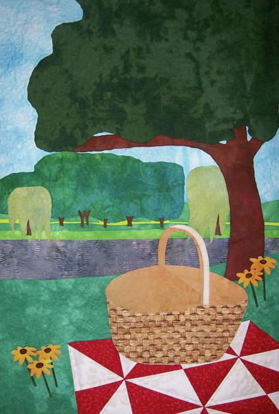 Picnic At Ellis Pond Poster