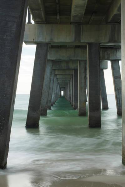 Pier Roll Tide Poster